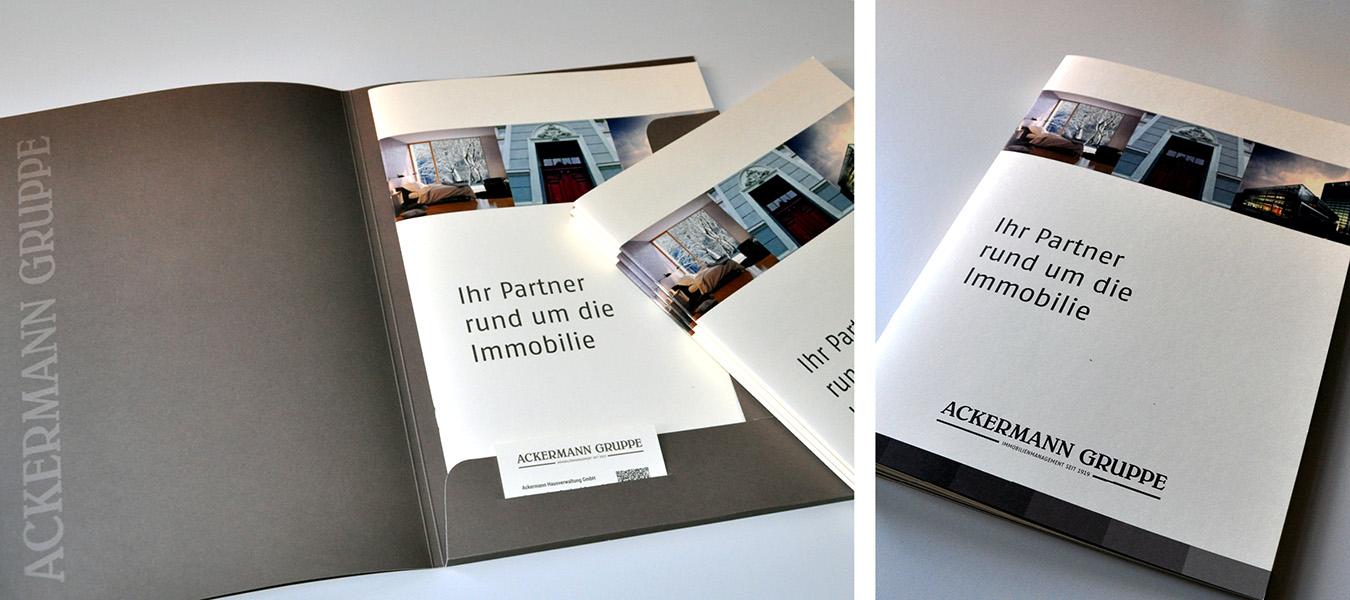 Sales Folder, Broschüren, Flyer und Folder - Werbeagentur CONNECTING ...